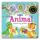 Preschool Animal Memory Game by Eeboo