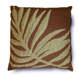 Pillow with Seaweed Motif