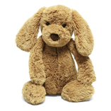 JellyCat Bashful Puppy Toffee-Medium