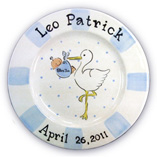 Birth Plate for Boy