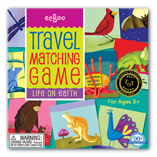 Life On Earth Travel Matching Game by Eeboo
