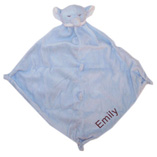 Angel Dear Blue Elephant with Monogram