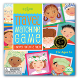 I Never Forget A Face Travel Matching Game by Eeboo
