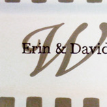 First Names with Initial Platter
