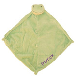 Angel Dear Green Froggy with Monogram