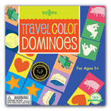 Travel Dominoes by Eeboo