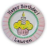 Birthday Plate for Girl-10.5